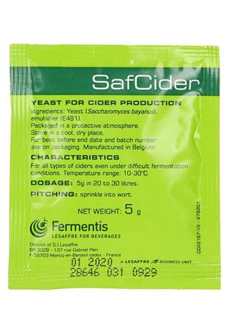 Дрожжи для сидра Fermentis