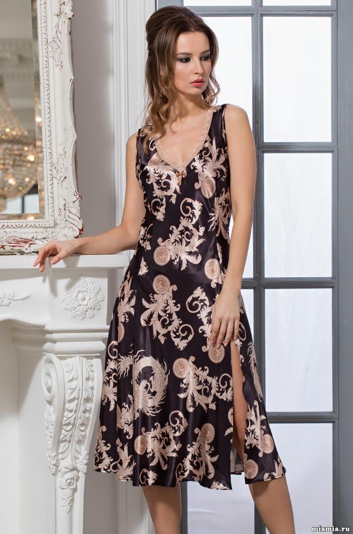 Сорочки ночные женские Сорочка женская Mia-Amore VERSACHI GOLD Версаче Голд 9935 9935.jpg