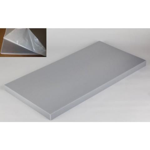 негорючая  акустическая панель ECHOTON FIREPROOF 100x50x5cm  из материала  BASOTECT серый  с адгезивным слоем