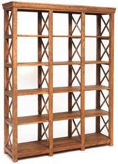 Шкаф книжный Secret de Maison SCHLOSS (mod. G04400) дерево акация, хела натуральный винтаж
