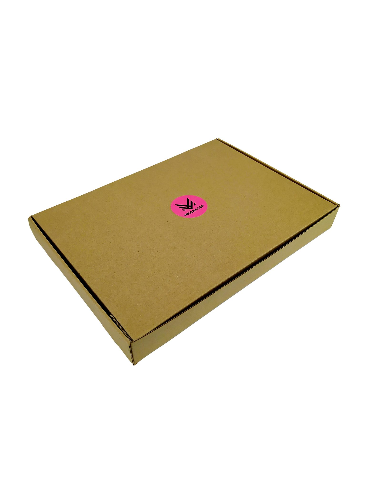 Рамка для медали и фото (классический-коричневый)