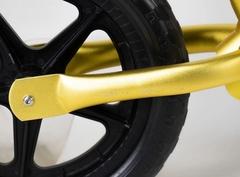Беговел EcoBalance NEXT, сверхлегкий, 1,9 кг, золотой заднее колесо