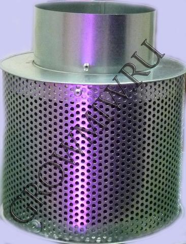 Высокоэффективный угольный фильтр Clean smell 100 mini до 250 м³/ч.