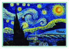 Açıqca\Открытки\Giftcard Van Gogh 3