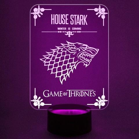 Ночник House Stark - Игра престолов