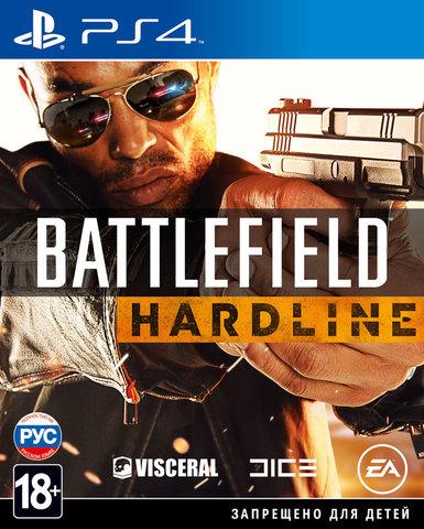 PS4 Battlefield: Hardline (русская версия)