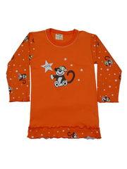 Ночная рубашка с длинным рукавом детская