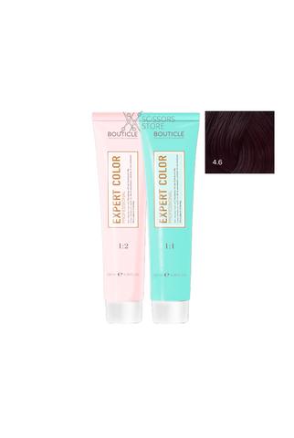 Expert Color Hair Color Cream 4/6 шатен фиолетовый 100 мл