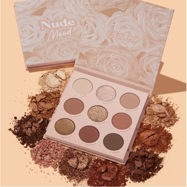 Палетка теней ColourPop Nude mood