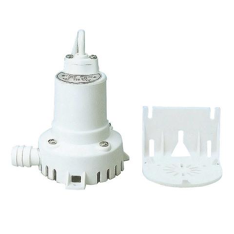 Насос центробежный осушительный с монтажным кронштейном 400 GPH, 12 В