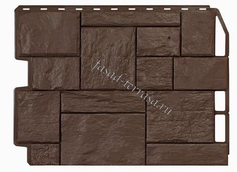 Wandstein Туф Тёмно-коричневый