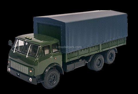 MAZ-516B with awning 1:43 DeAgostini Auto Legends USSR Trucks #55