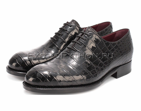 Ботинки из кожи крокодила SH-120