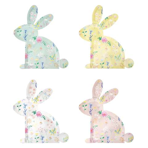 Тарелки в форме кролика