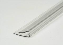 Профиль торцевой для поликарбоната 4х2100мм б/цв.