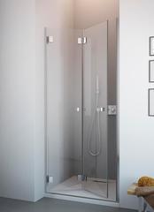 Душевая дверь Radaway Carena DWB 80L 80x195 см. левая, крепится слева, профиль хром, стекло прозрачное 34512-01-01NL