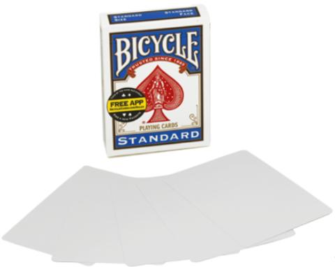 Bicycle - пустое лицо и рубашка (double blank)