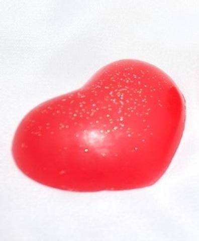 Мыльное ассорти/сердце: СЕРДЕЧКО (малое), 30 гр/шт