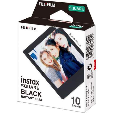 Картридж Fujifilm Instax Square BLACK FRAME для INSTAX SQUARE И SP3 (10 шт)