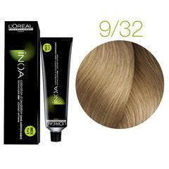L'Oreal Professionnel INOA 9.32 (Очень светлый блондин золотистый перламутровый) - Краска для волос