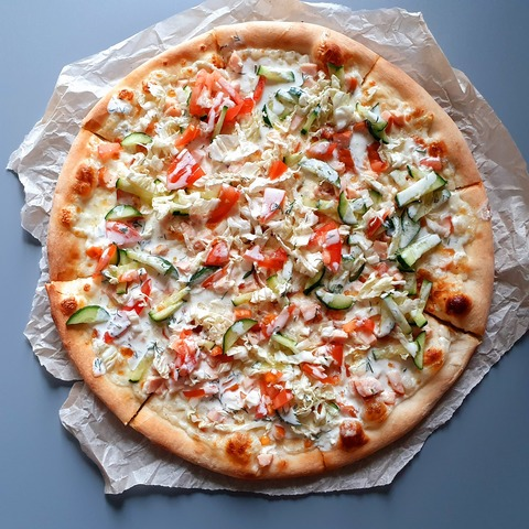 Шаверма пицца