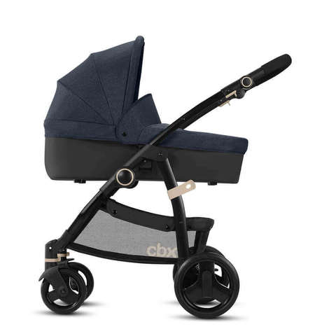 Детская коляска 2 в 1 CBX by Cybex Leotie Pure Jeansy Blue