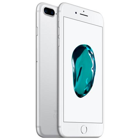 iPhone 7 Plus, 128 ГБ, серебристый