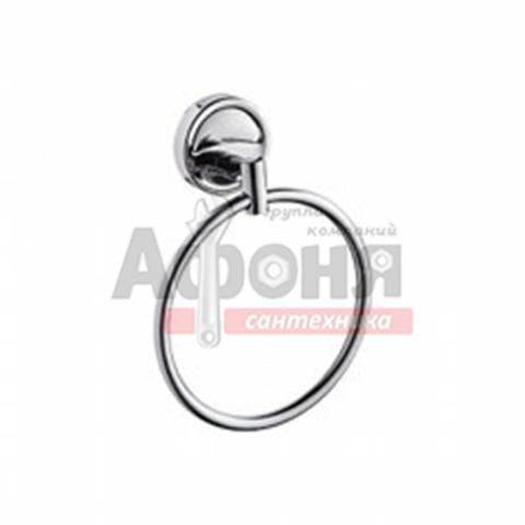 3504/L Держатель для полотенца кольцо хром