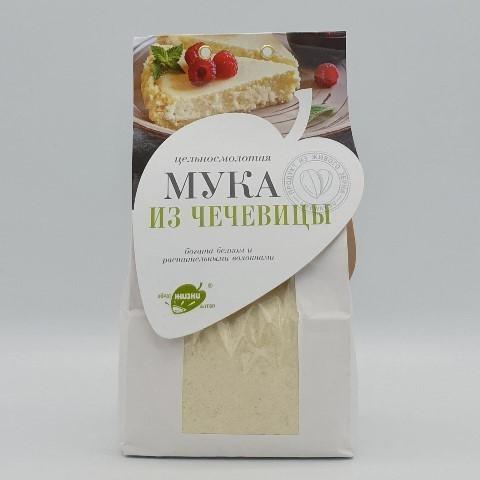 Чечевичная мука цельносмолотая ОБРАЗ ЖИЗНИ, 500 гр