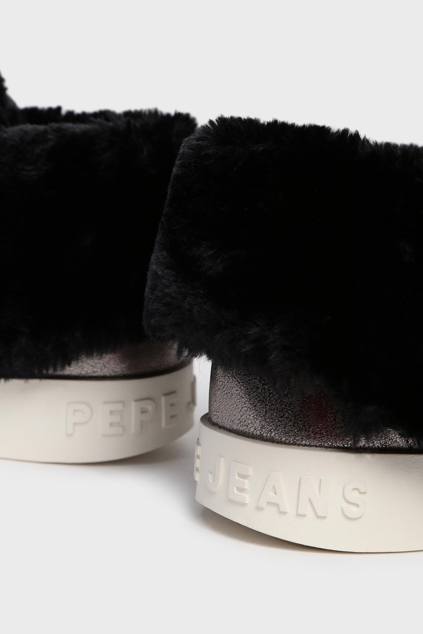 Женские серебристые хайтопы BRIXTON FLAP Pepe Jeans