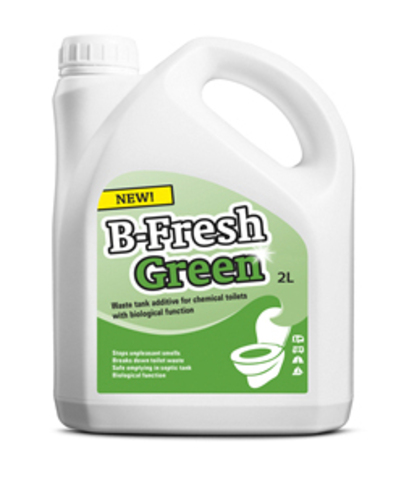 Жидкость Thetford B-FRESH GREEN, 2л