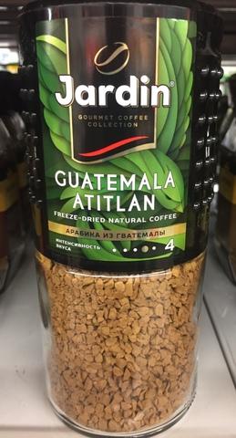 Кофе растворимый Жардин Гватемала Атитлан