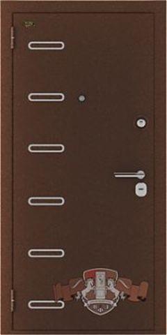 Дверь входная Стандарт + стальная, макоре, 2 замка, фабрика Владимирская фабрика дверей