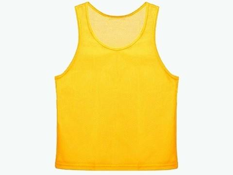 Манишка сетчатая. Цвет: жёлтый. Размер XL.