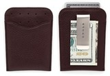 Футляр Cross для визитнок и кредиток с зажимом для банкнот коричн кожа (AC122-9)