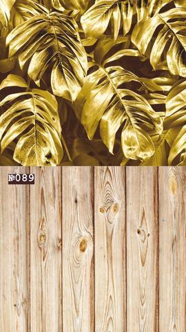 Фотофон стена-пол 089 Золотые листья