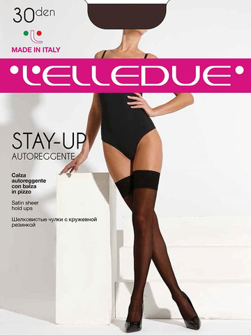 Чулки Stay-Up 30 Autoreggente Elledue