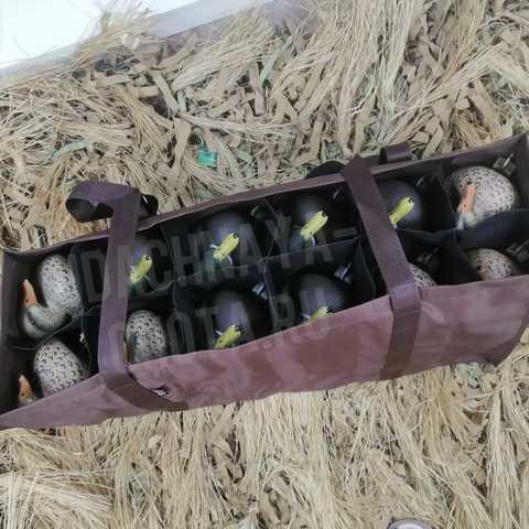 Сумка  для переноски и хранения 12 утиных чучел