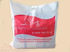 Полиэтиленовый пакет-чехол для прозрачной сумки фото 2