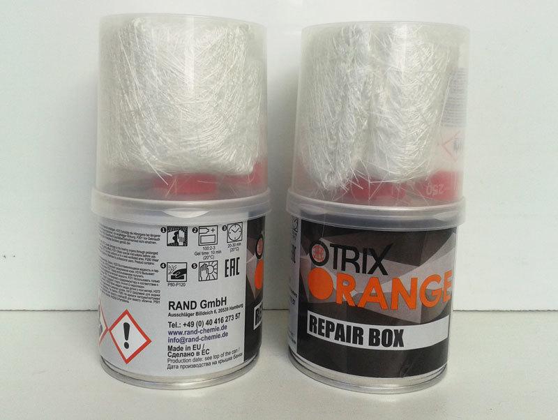 Описание ремонтного набора для стеклопластика. OTRIX