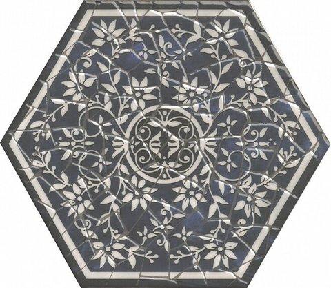 Декор KERAMA MARAZZI Парк Гуэля 290х334 белый лаппатированый