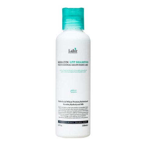 Шампунь для волос кератиновый La'Dor Keratin LPP Shampoo, 150 мл (бессульфатный)