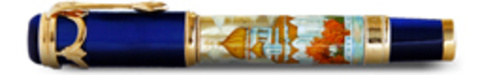 Ручка перьевая Ancora Jesus Christ Chapel (Храм Христа Спасителя)123