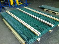 Секция заборная ОПТИМУМ, яч.50х200мм, d=4мм, (2,0х2,5м) с ПВХ покрытием