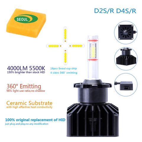 Светодиодные лампы D2S/D4S (комплект)