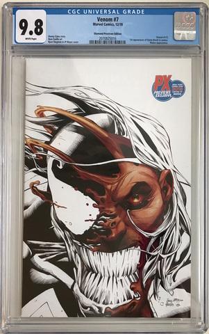 CGC Venom #7. Состояние 9,8