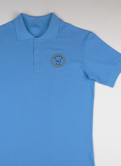 Поло S&T slim fit lightblue1803