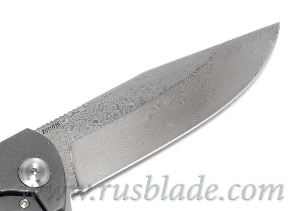 Cheburkov Wolf 2018 Damascus Folding Knife Best Russian Knives