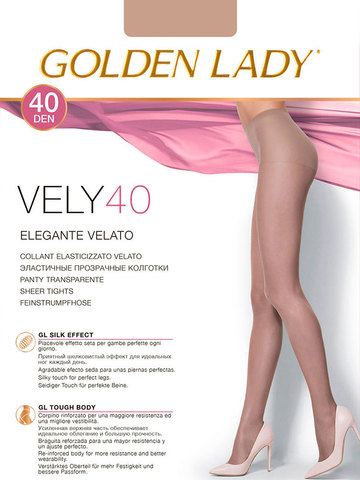Колготки Vely 40 Golden Lady