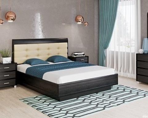 Кровать КАМЕЛИЯ КР-1053 венге